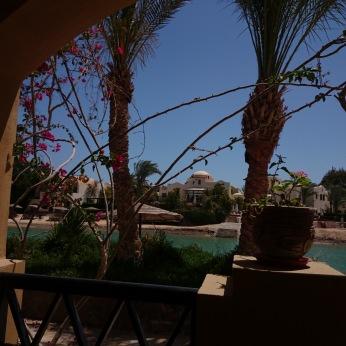 Unsere Terrasse im Dawar El Omda
