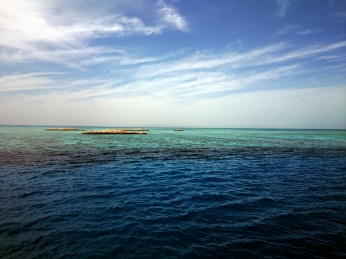 Wie grün kann Meer sein?