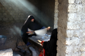 Brotbacken Beduin-Style